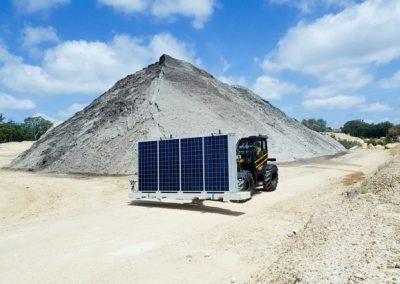 Maverick solar quarry