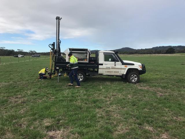 Volt Farmer Geotech Survey