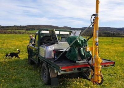 Dromana Soil Core Testing